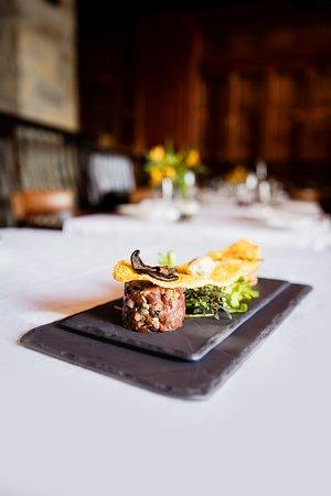 Restaurant La Quintessence: Carpaccio de boeuf / Beef carpaccio
