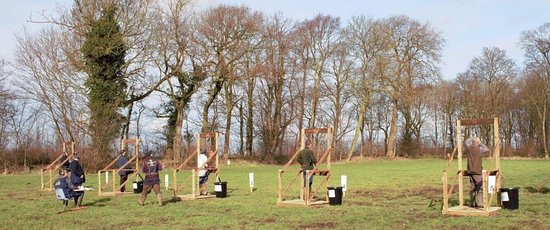 Thorney, UK: Clay pigeon shooting for all levels