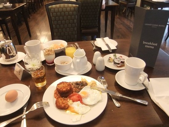 Breakfast Picture Of Grand Canal Hotel Dublin Tripadvisor