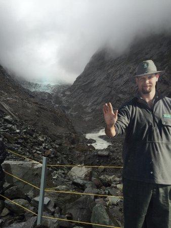 Franz Josef, Nueva Zelanda: Mesmo com chuva vale a pena