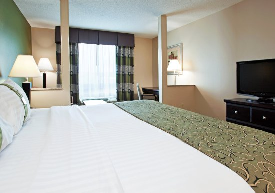 Holiday Inn Toledo/Maumee: A King Bed and Large Desk make work travel easier