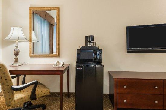 เว็บสเตอร์, นิวยอร์ก: Every room features mini fridge, microwave and coffee maker
