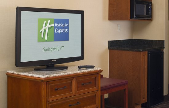 Springfield, VT: Large HDTVs in all guest rooms.