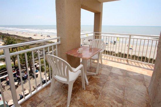 Balcony - Picture of San-a-bel, North Myrtle Beach - Tripadvisor