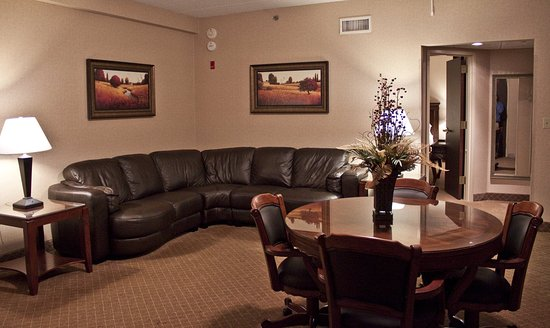 Holiday Inn Express Mentor (Lamalfa Conference Center): Bridal Penthouse Living Area