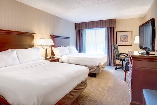 Holiday Inn Express Hotel & Suites West Long Branch: Standard Double Queen Bed Room
