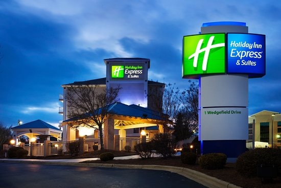 Holiday Inn Express Asheville: Hotel Exterior We Are Directly Off I-26 Exit-33