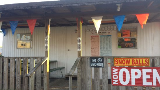Belle Chasse, LA: snowball stand