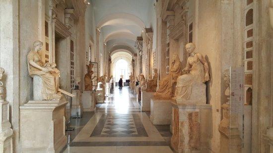 Kapitolinische Museen: interno