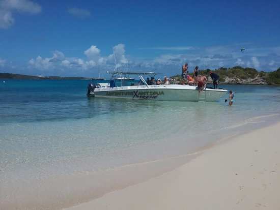 St. John's, Antigua: Para sentir la velocidad sobre el mar. Increible.