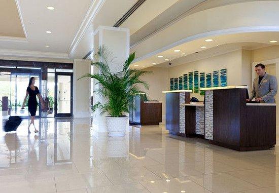 Sanibel Harbour Marriott Resort & Spa: Front Desk