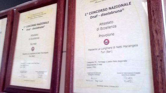 Turi, Italia: premi