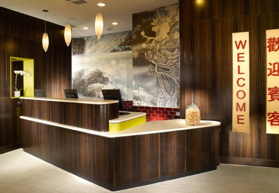 Fairfield Inn & Suites by Marriott Washington, DC/Downtown: Reception Area