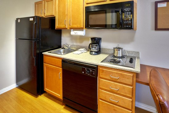 Killeen, TX: Double Bed Suite Kitchen
