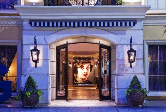 Hotel ZaZa Dallas: Za Za Dallas Exterior Entrance