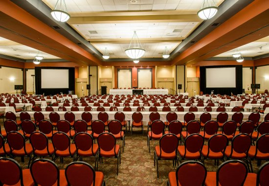 Delta Hotels by Marriott Sherbrooke Conference Center: Our Sherbrooke, Quebec hotel's Le Grand Salon Sherbrooke - Classroom-Style Meeting Setup
