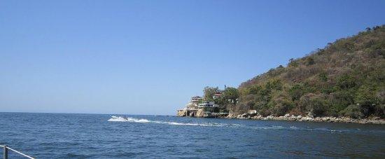 Boca de Tomatlan, Meksiko: View from my Lounger on the Beach
