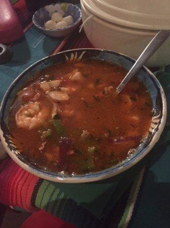 Nayarit, México: Seafood soup