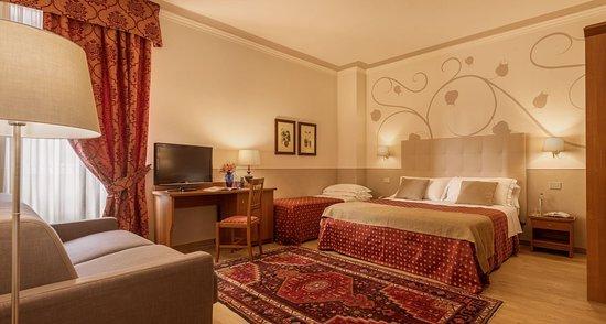 Hotel Ambasciatori: quadruple room