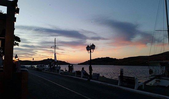 Kea, Hellas: sunset