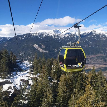 Squamish, Canadá: On the Gondola ride up