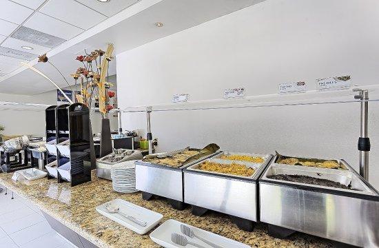 Holiday Inn Express Villahermosa Tabasco: Breakfast Bar