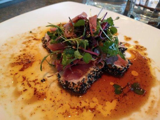 Edmonds, WA: seared ahi tuna