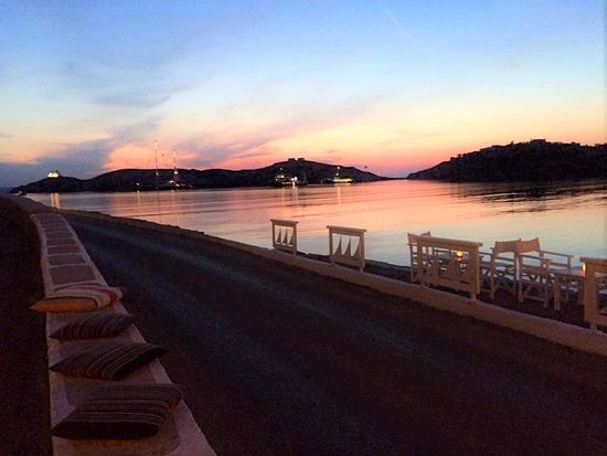 Kea, Grækenland: vourkari sunset