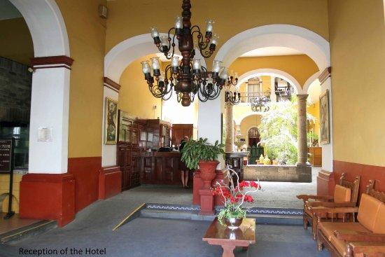 Hotel San Francisco Plaza: Reception