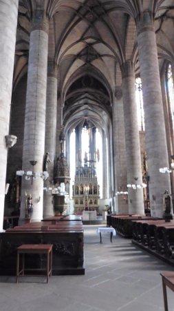 Pilsen, Tschechien: interior de iglesia