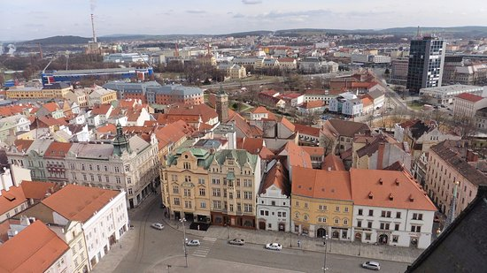 Pilsen, Tschechien: VISTA DESDE LA TORRE