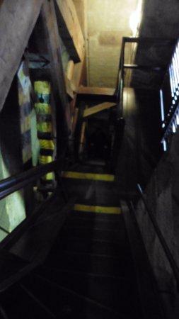 Pilsen, Tschechien: escalera de subida a la torre