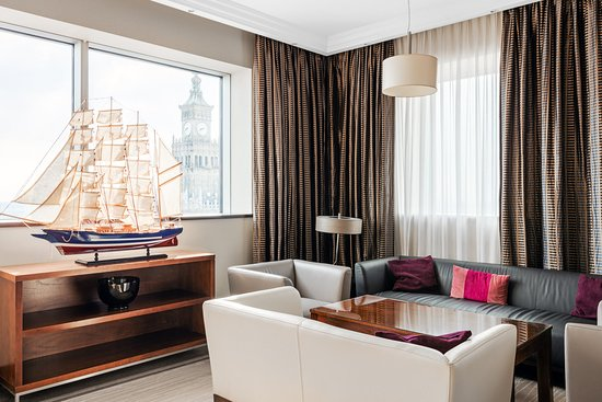 InterContinental Hotel Warsaw: Guest Lounge