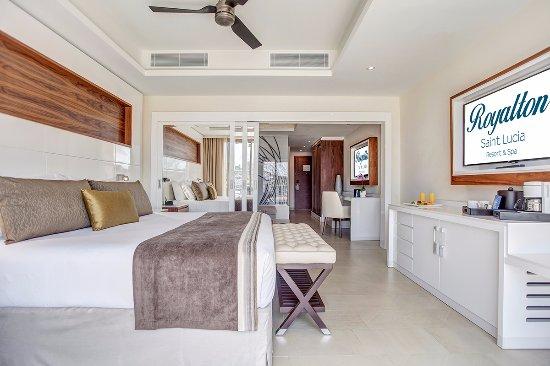 Cap Estate, St. Lucia: Luxury Family Suite