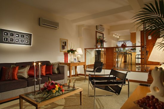 Orchard Point Serviced Apartments: Living Room Of 1 Bedroom Premier  Apartment