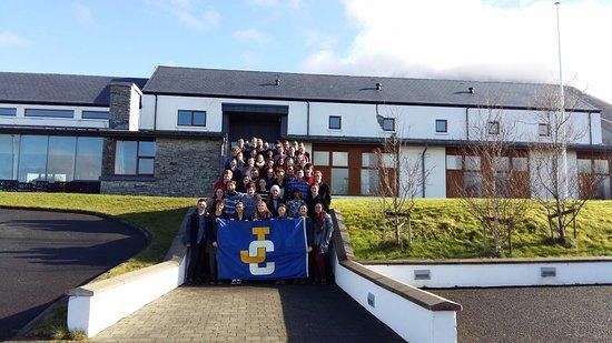 Dunlewey, Irlanda: Choir in front of hostel