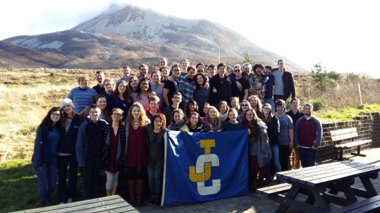 Dunlewey, Irland: Choir behind hostel