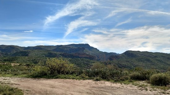Apache Junction, AZ: Top of the mountain