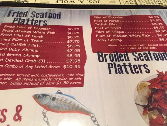 Gastonia, NC: Part of their menu, lots more stuff not in this picture