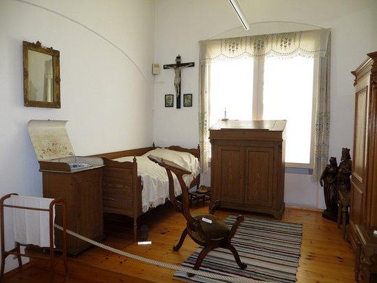 Bad Worishofen, Γερμανία: Schlafzimmer von Pfr. Kneipp
