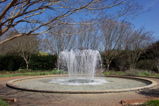 Belmont, NC: One of several fountains