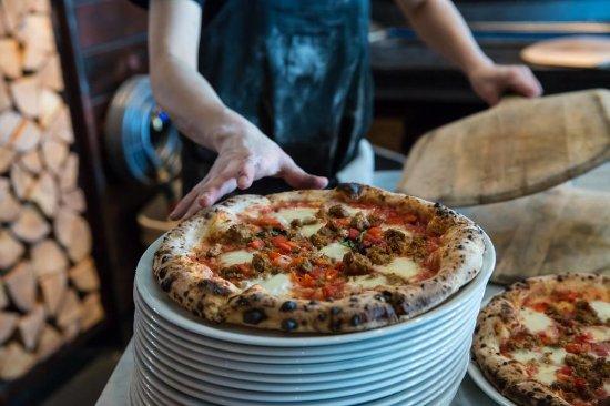 Cobble Hill, Canadá: A Prima Strada Pizza