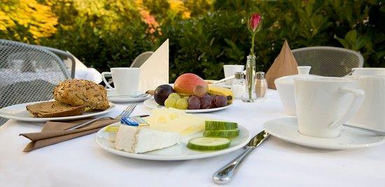 Hotel Königstein: Summer terrace