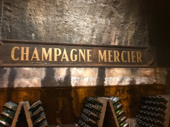 Epernay, France: cellers