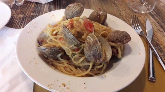 Bientina, Itália: Linguine ai tartufi di mare