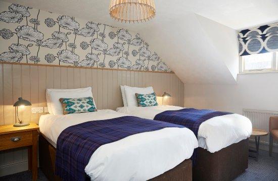 Sticklepath, UK: Cedars Refurb Twin Bedroom