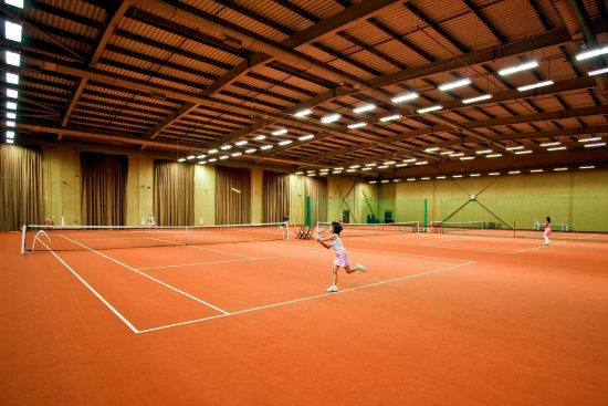 Stoke Poges, UK: Tennis Stoke Park
