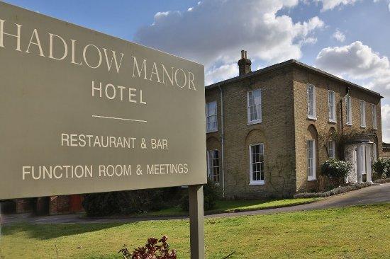 Hadlow Manor Hotel: Exterior