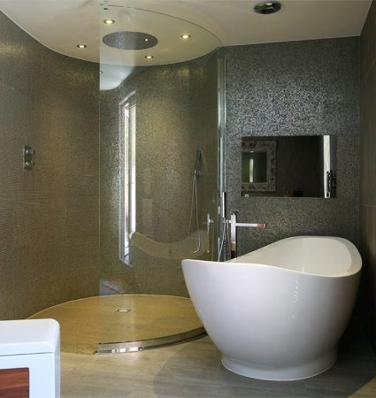 Clarkston, UK: The Busby Honeymoon Bathroom