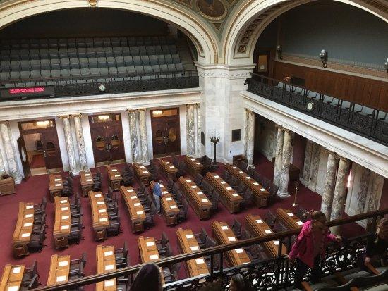 威斯康星州議會大廈照片